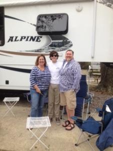 Jeff, Suzanne & James