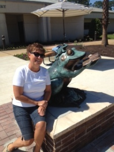 Kay & the Frog @ the Library