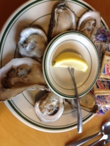 more oysters...