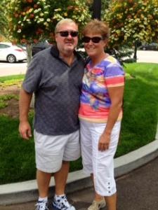 "Kay & Mark at the ""Broadmoor"""